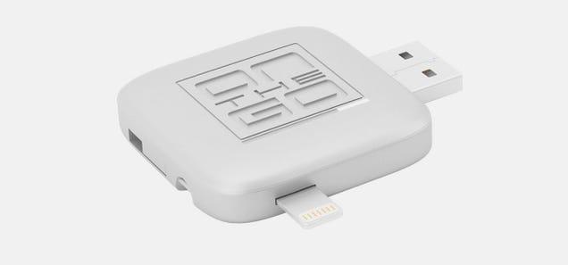 USB 3.0, Lightning y MicroUSB: este aparato es 3 en 1