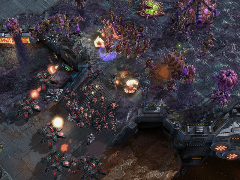 Starcraft 2 Screens