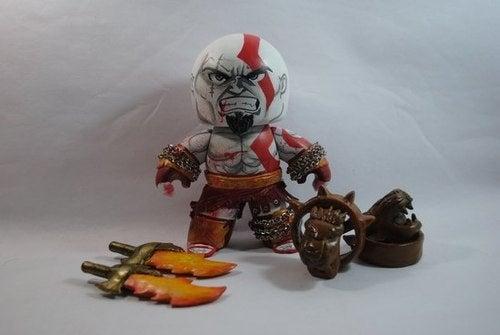 God Of War Figure Goes Tiny, Lets Itself Go