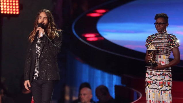 Jared Leto Uses MTV Movie Award Moment to Remind You That AIDS Exists