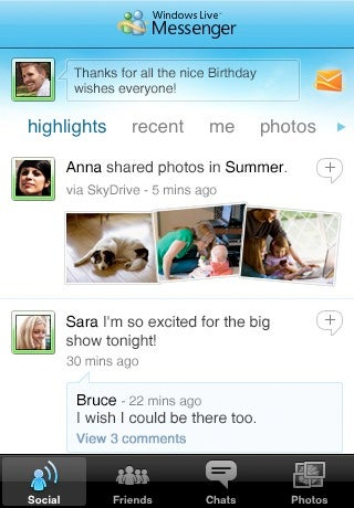 iPhone Now Has A Windows Live Messenger App