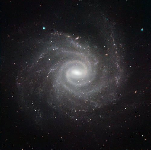 The naked beauty of 6 spiral galaxies