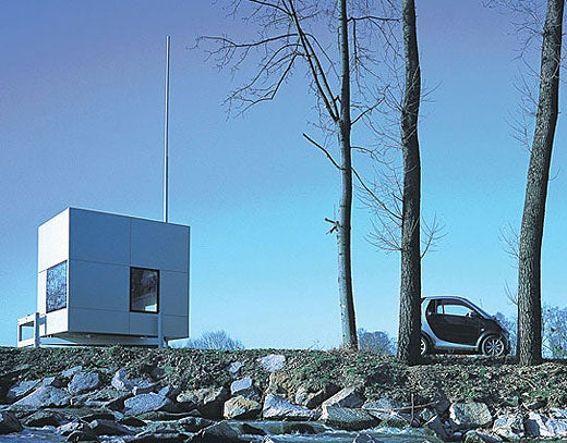 Micro Compact Home: Trailer Park Living With That Euro Design Flair