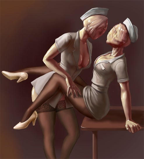 Anyone For Some (Not Very) Erotic Silent Hill Fan Art?