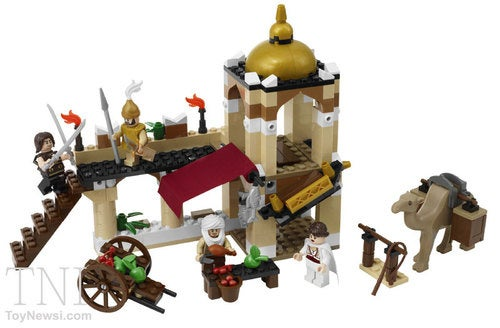 Prince Of Persia LEGO Playsets: Chesty Jake Wears A Shirt