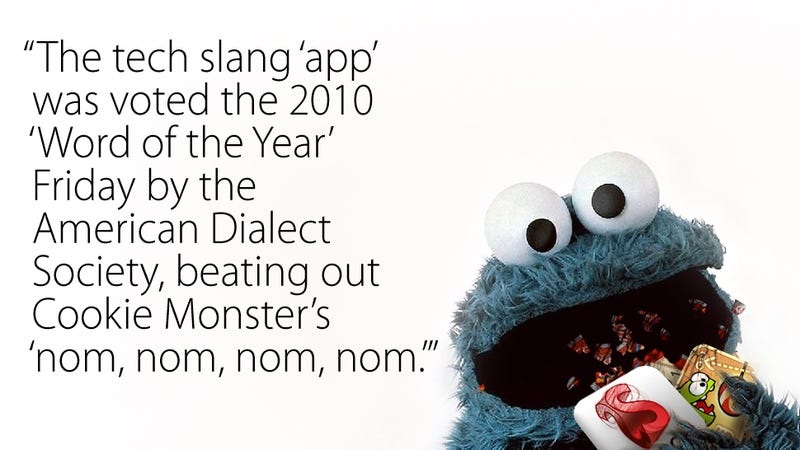 Linguists Foolishly Place Apps Above Cookies