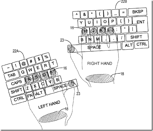 Microsoft Getting Cleverer and Cleverer With New Multitouch Screen Keyboard