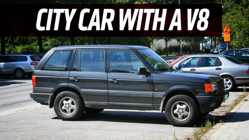 A 4.0 V8 Range Rover Can Be The Cheapest City Car