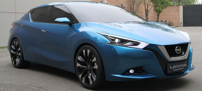 The Nissan Lannia Concept Is A Bluebird For A New Generation