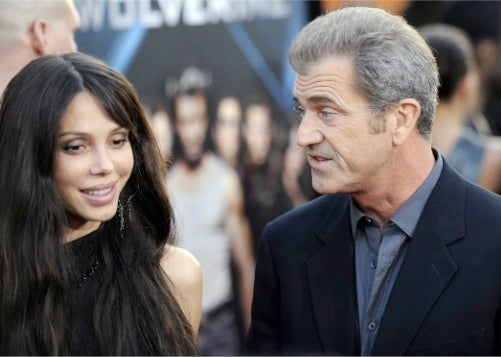 Mel Gibson and Mistress' Public Debut