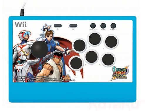 New Wii Arcade Sticks (Now With Added Tatsunoko vs. Capcom!)