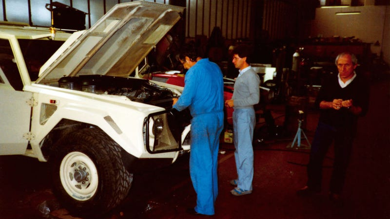 Ever Wondered Why Lamborghini Called Their SUV The LM002?
