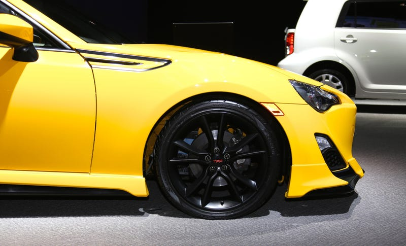The Scion FR-S Release 1.0 Is Yellow As Fuck