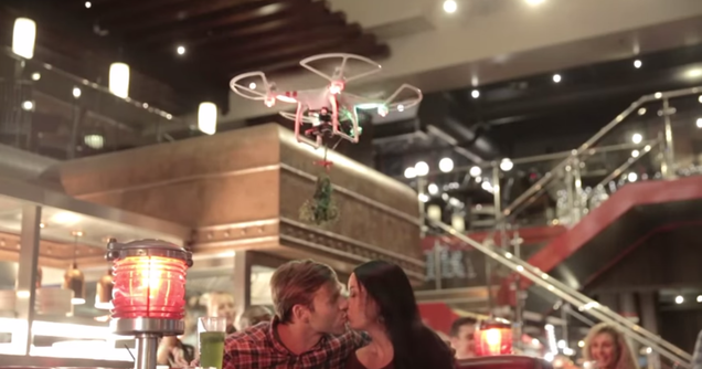 7 Drone Ideas Cooler than TGI Friday's Dumb Mistletoe Drone Idea