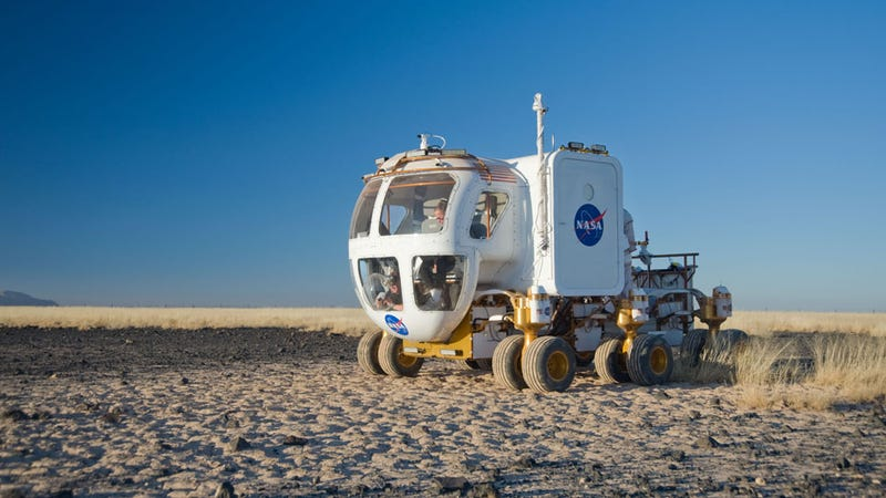 NASA's Space Exploration Vehicle: Pimp My Rover