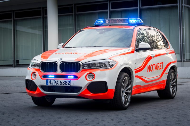 BMW Rescue Rigs Are The Classiest Rides To The Hospital