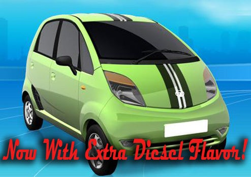 Tata Nano To Get Two-Cylinder Turbo-Diesel Power, Bajillion Miles Per Gallon