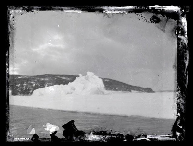 100-year-old negatives from the Ross Sea Party found in Antarctica