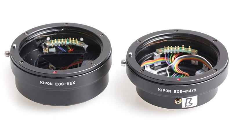 Adapter Lets Canon EF Lenses Play Nice with Micro Four Thirds (and Sony NEX Cameras)