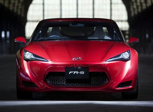 Toyota FR-S Is The New FT-86?
