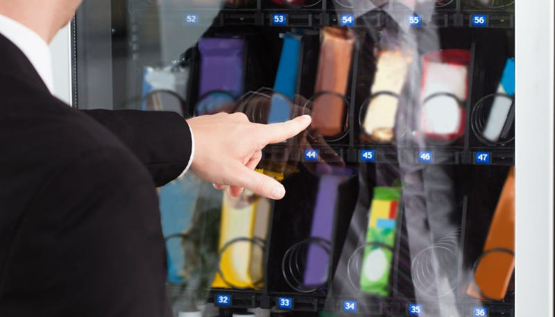 Vending Machines Could Soon Display Calorie Info For Your Snacks