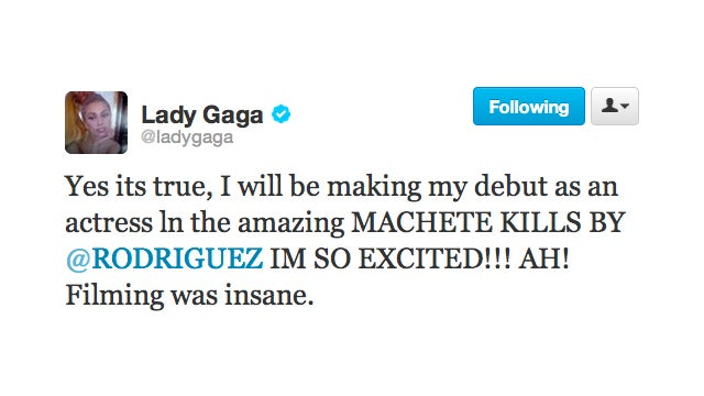 Get Excited, Monsters: Lady Gaga Is About to Make Her Acting Debut