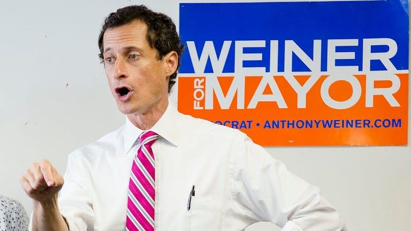 Anthony Weiner Drops to Fourth in New Poll, Won't Get Spitzer Vote