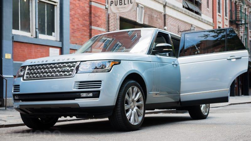 A Range Rover Is The Perfect Chauffeur Car