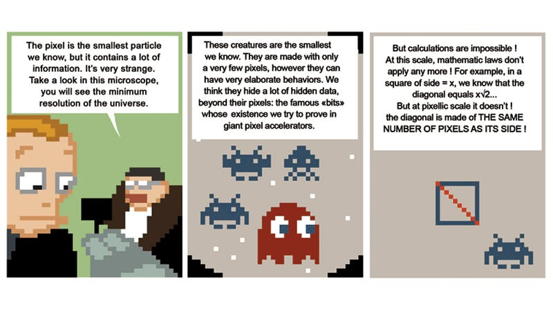 The Fascinating Quantum Theory of Pixels