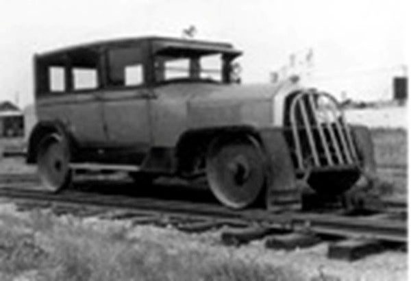 These Modified Cars Ferried Rail Crews in Style