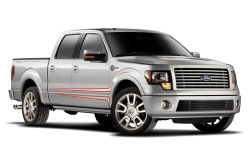 2011 Harley Davidson F-150 Gets 6.2-Liter V8, Handsome Paint