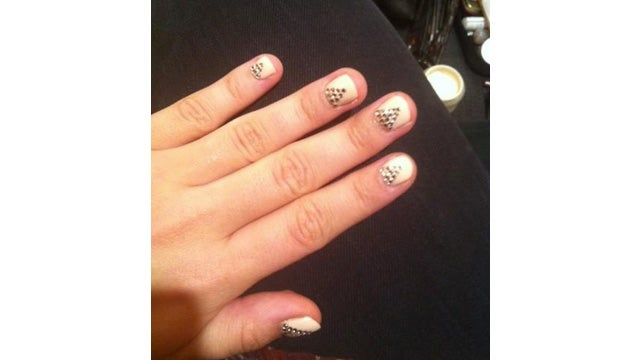 Demi Lovato Rocked Some Pretty Awesome Nails on The X Factor