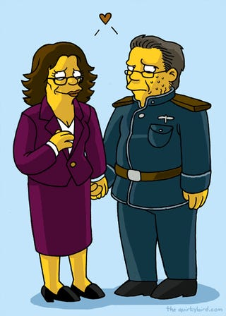 100+ Science Fiction Characters Drawn In The Simpsons Style