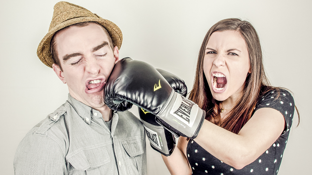 "Save Face When You're Angry with a ""Discomfort Caveat"""