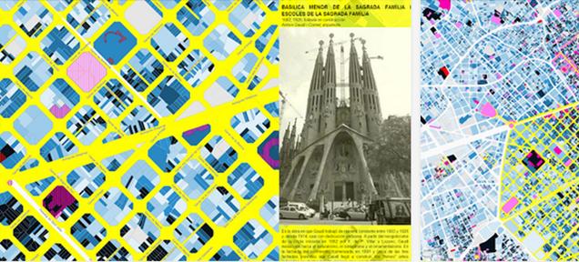 Explore Barcelona's Architectural Past With a Colorful Interactive Map