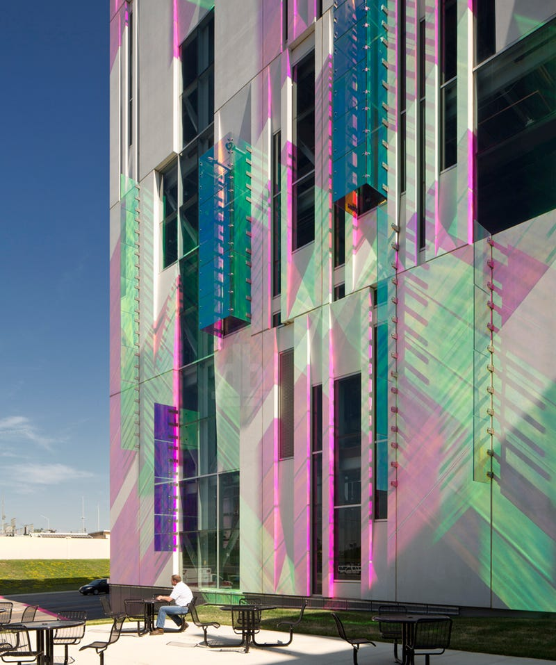 The Facade of This Water Cooling Plant Is Chill as Hell