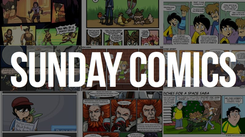 Sunday Comics: You Can't Do That on TV