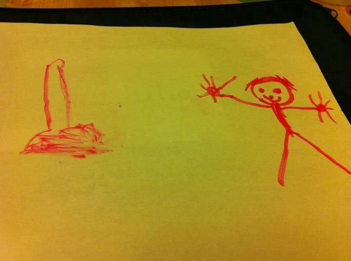 'HI, HOW ARE YOU DOING IN HELL': A Collection of Your Most Demented Children's Drawings
