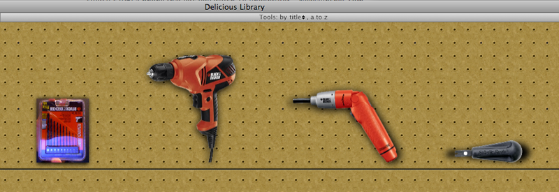 Hands-on With Delicious Library 2.0 - It Tracks Gadgets and Tools!