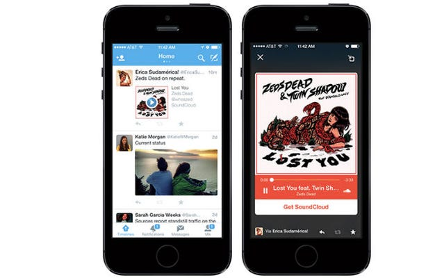 Twitter's Audio Cards Put Music Right in Your Tweets