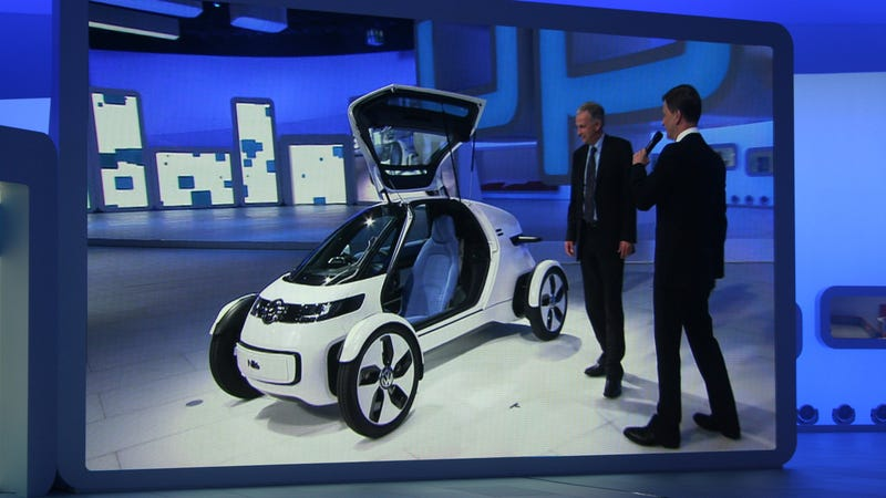 Volkswagen Nils concept: When you ride alone, you ride more efficiently?