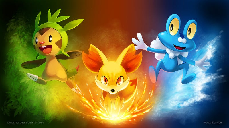 Of Course The Internet Is Awash with Pokémon X/Y Fan Art
