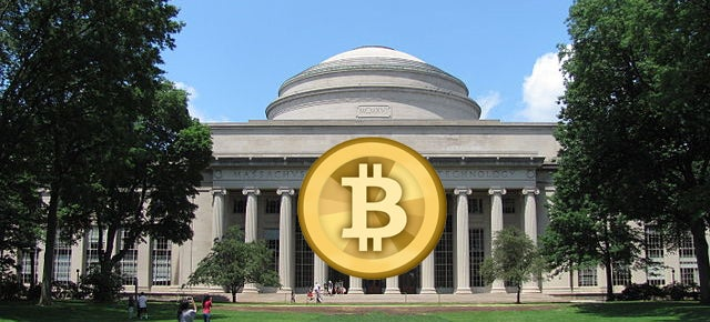 Every MIT Undergrad Will Get $100 In Free Bitcoin Next Fall