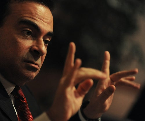 Carlos Ghosn Auditions For Third Base Coach Job