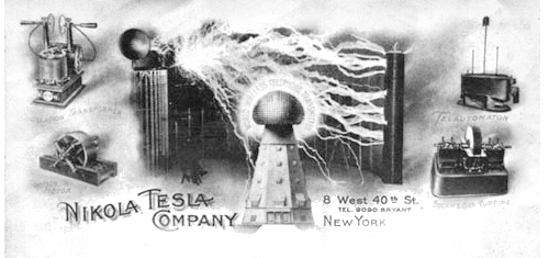 Nikola's Letterhead (And How Tesla Won the War of the Currents)