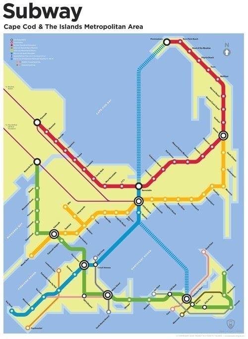 Speculative Subway Maps From Our Underground Future