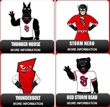 Which Of These Nightmare Fuels Will Be The New St. John's Mascot?