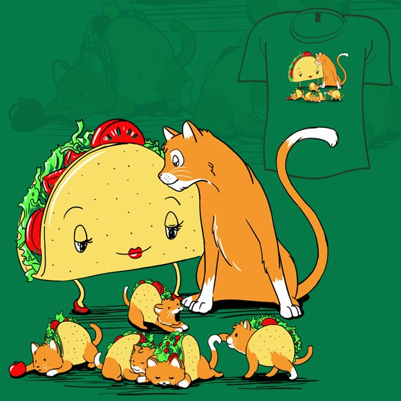 What If a Cat Fell in Love with a Taco and They Had Babies?