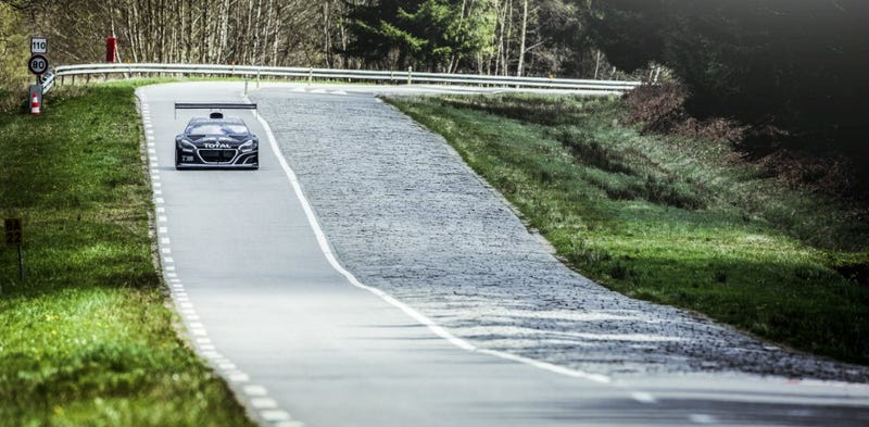 Preponderantly Powerful Pikes Peak Peugeot's Performance is Preposterous