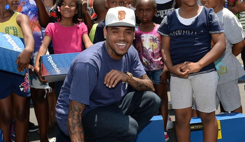 Nice Guy Chris Brown Generously Donates Sneakers, Inspires the World